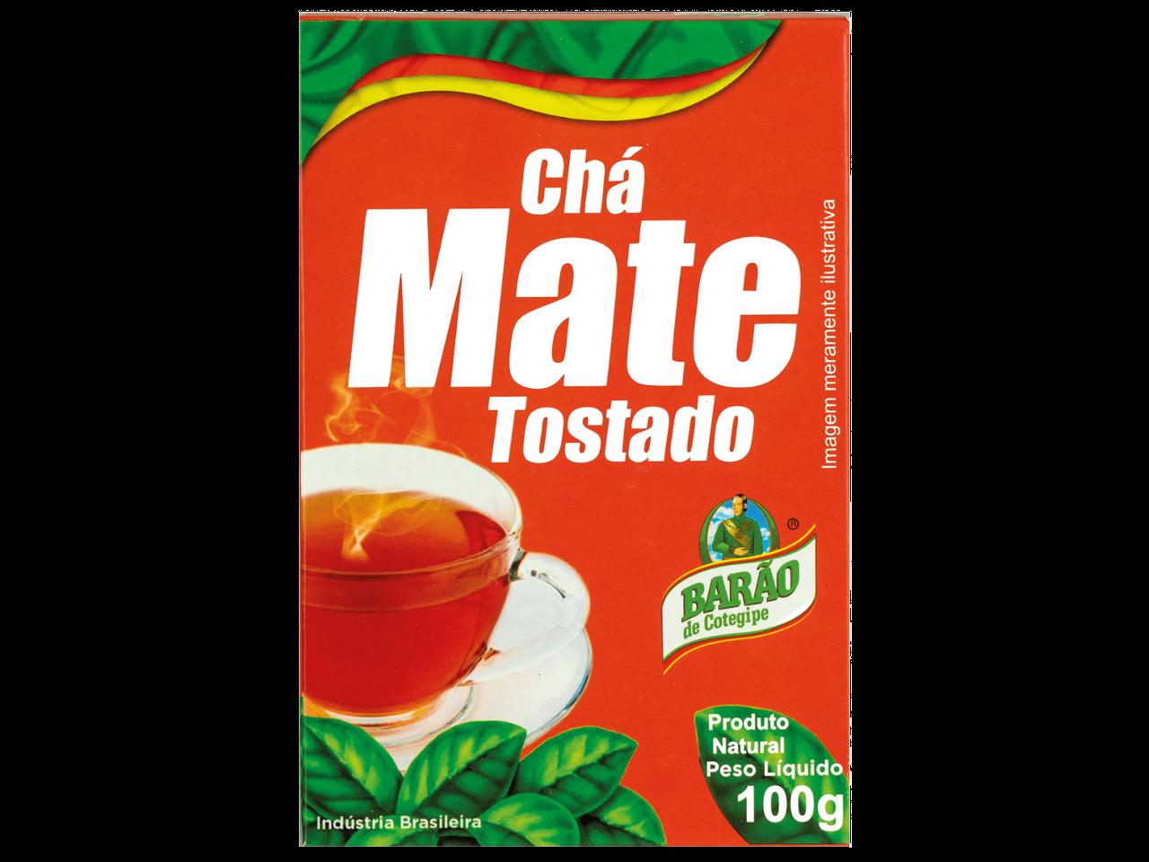 Chá Mate BARÃO Tostado