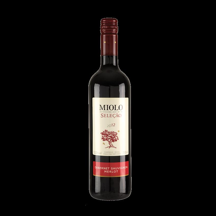 Cabernet Sauvignon/Merlot, MIOLO-Seleção 12,5% vol.