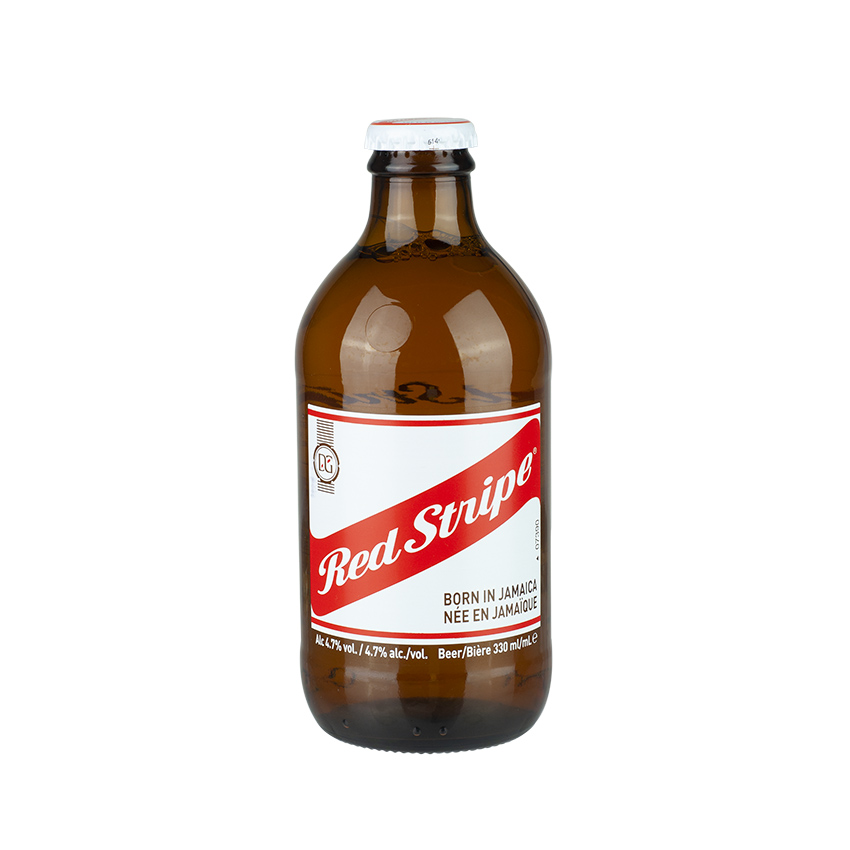 RED STRIPE Lager Beer 330ml