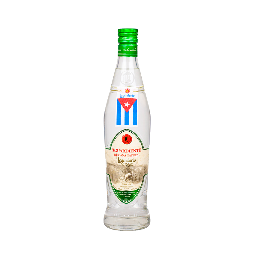 LEGENDARIO Aguardiente de Caña, 40% vol., 700ml