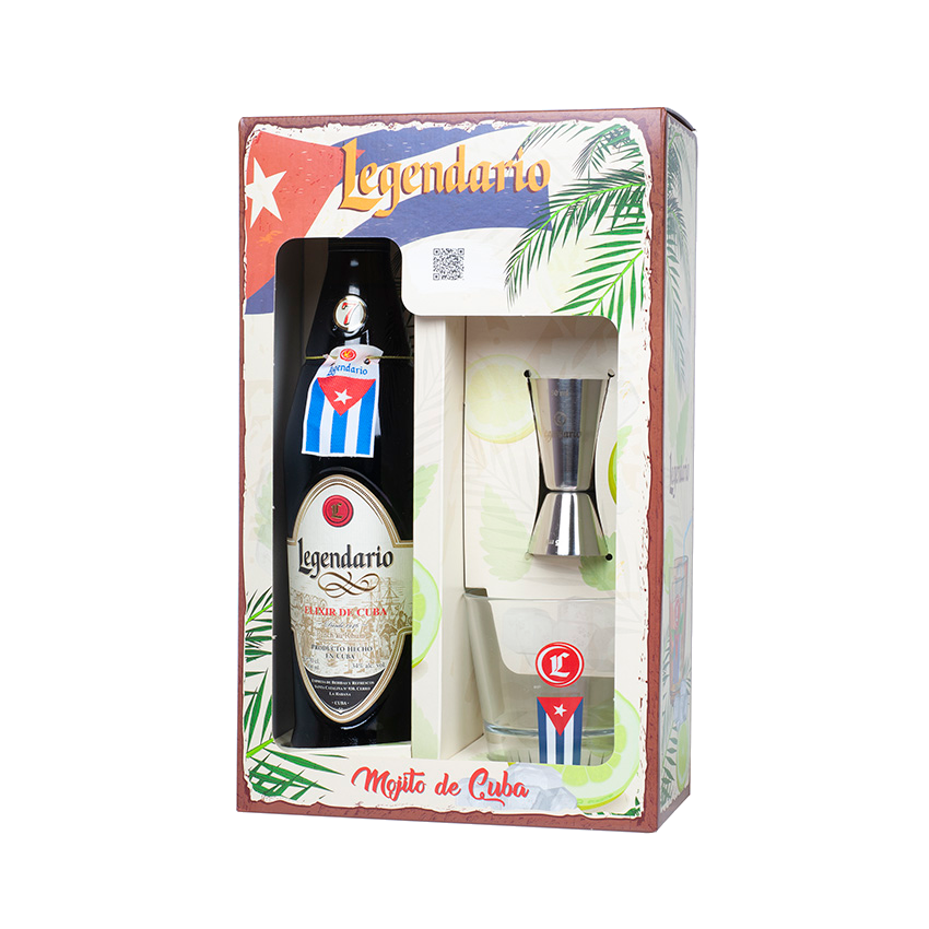 LEGENDARIO Elixir de Cuba One Pack