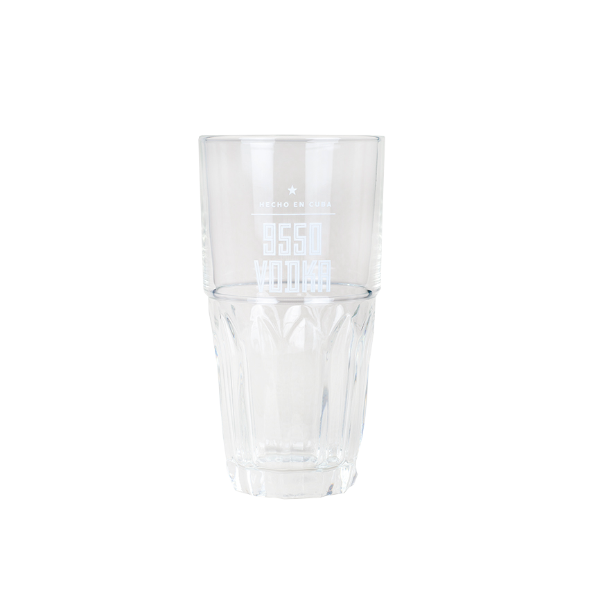 LEGENDARIO 9550 Vodka-Glas - Vaso Vodka 9550, 48cl