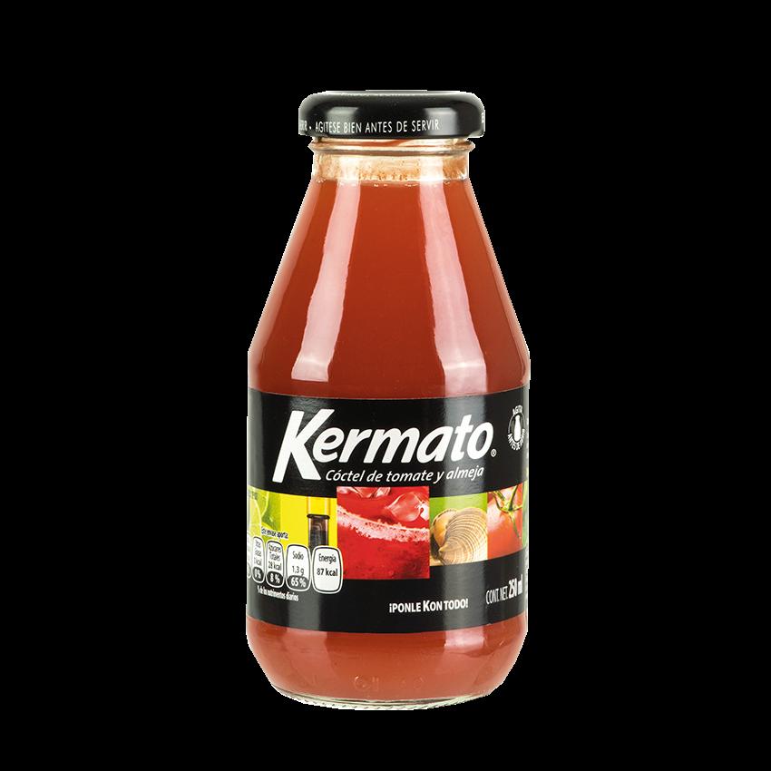 KERMATO Cóctel de Tomate y Almeja