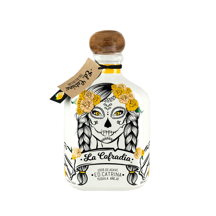 Tequila Añejo LA COFRADIA Edition CATRINA