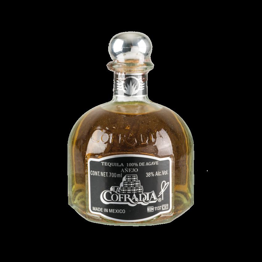 Tequila Añejo LA COFRADIA