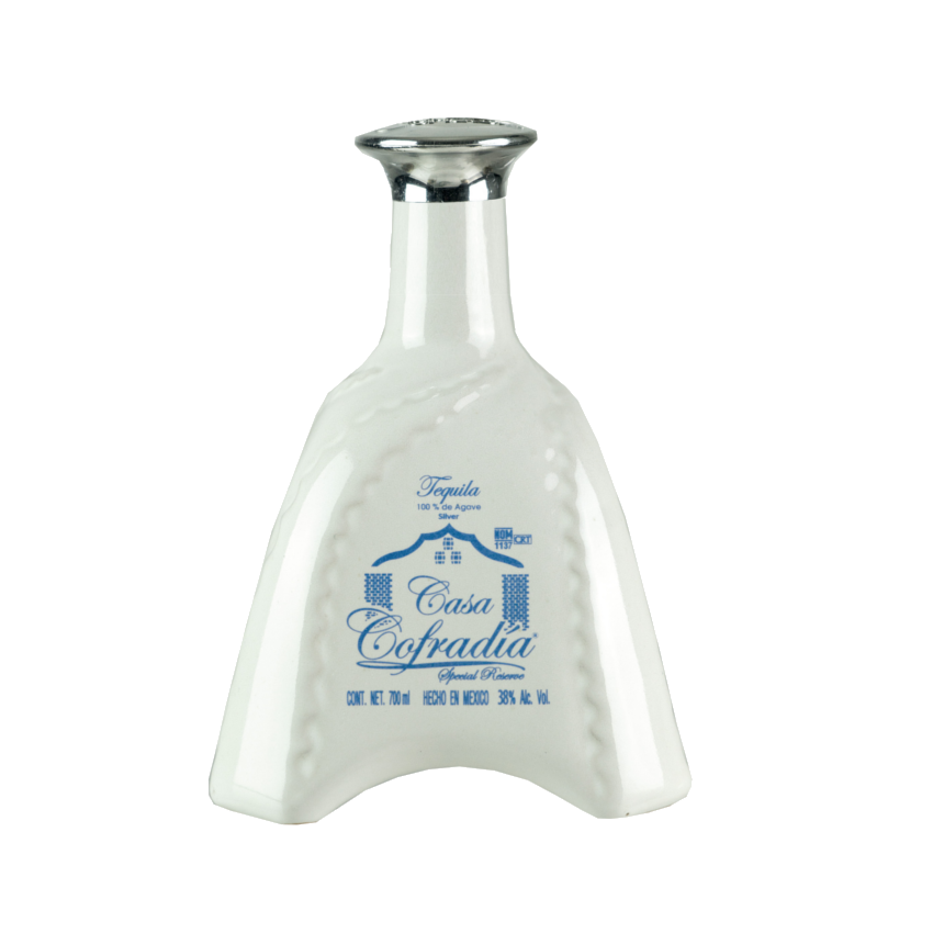 Tequila Blanco CASA COFRADIA