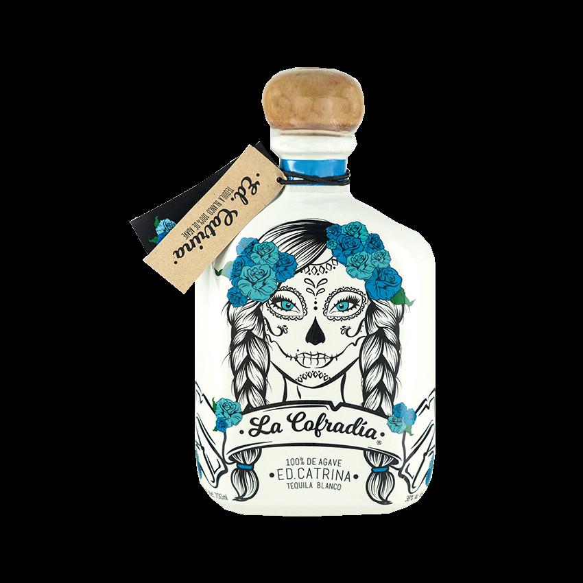 Tequila Blanco LA COFRADIA Edition CATRINA