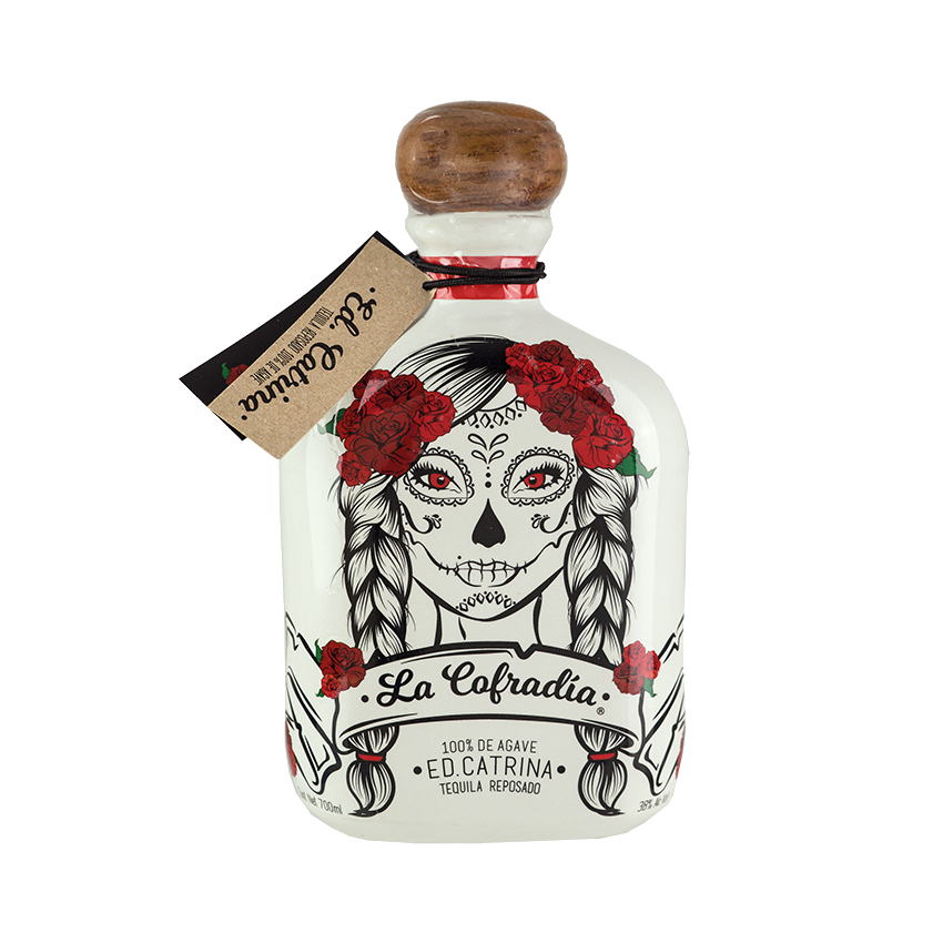 Tequila Reposado LA COFRADIA Edition CATRINA