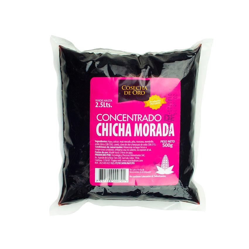Concentrado de Chicha Morarada COSECHA DE ORO 500g