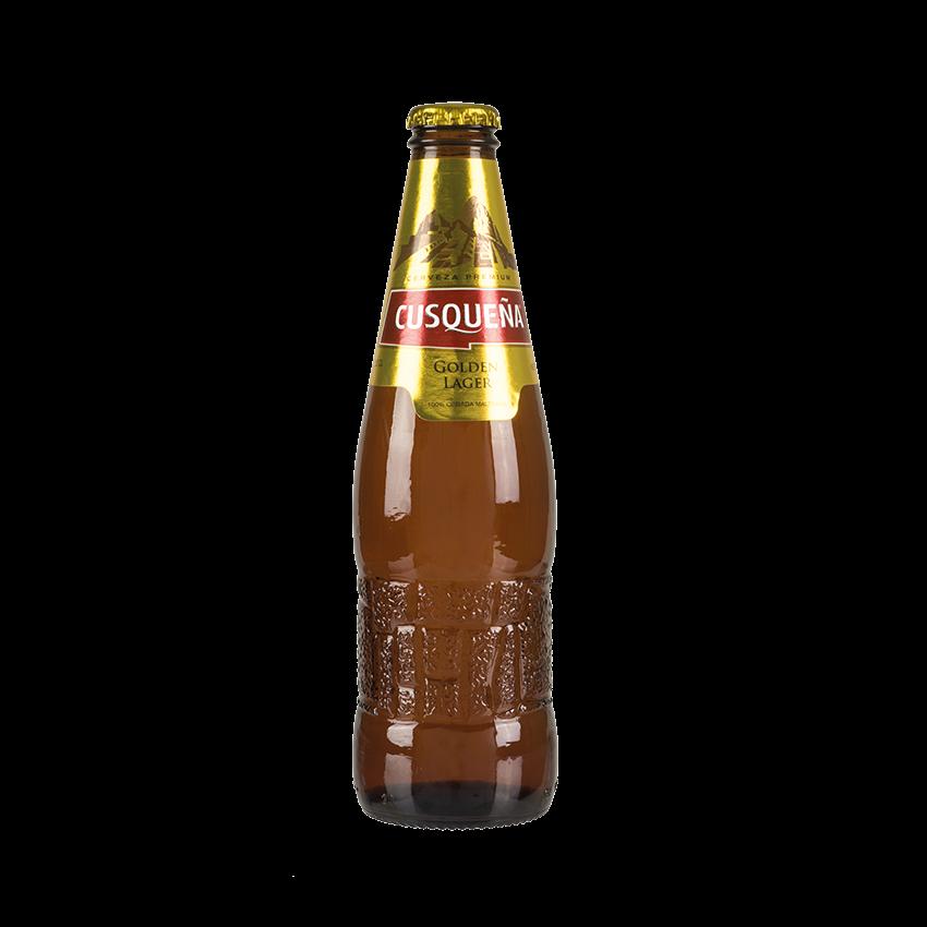 Cerveza Premium CUSQUEÑA Golden Lager