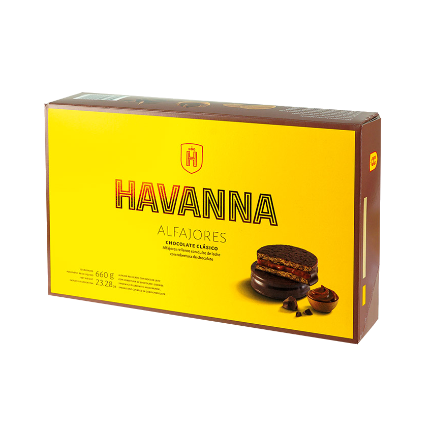 Alfajores HAVANNA Chocolate 12er Pack