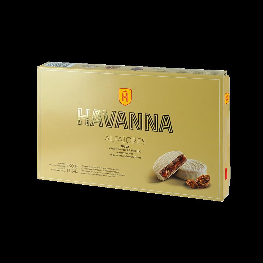 Alfajores HAVANNA Nuez 6er Pack