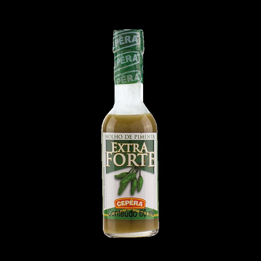 Molho de Pimenta Verde Extra-Forte CEPÊRA