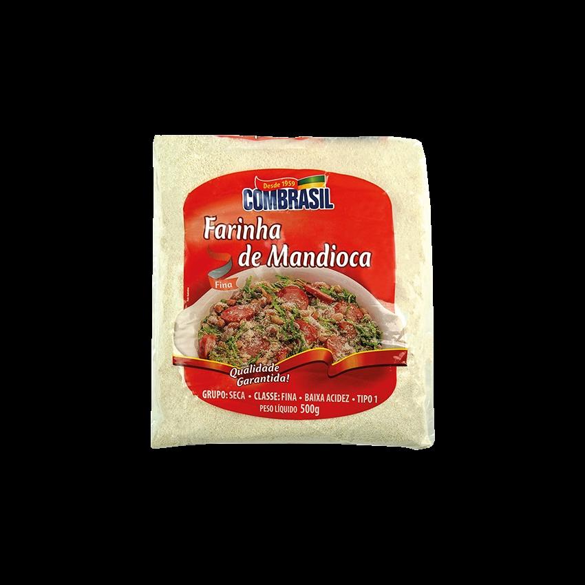 Farinha de Mandioca Crua COMBRASIL