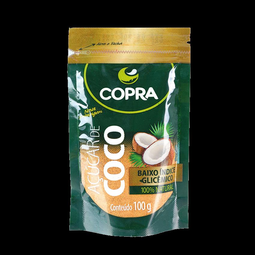 Açúcar de Coco COPRA, 100% Natural