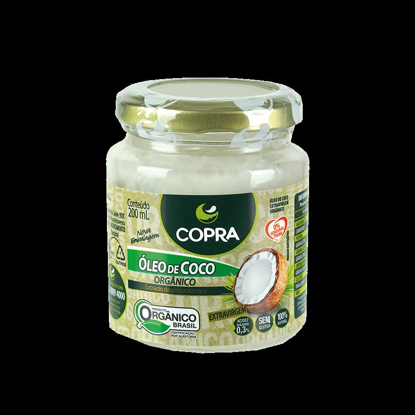 Óleo de Coco Organico COPRA, 200ml