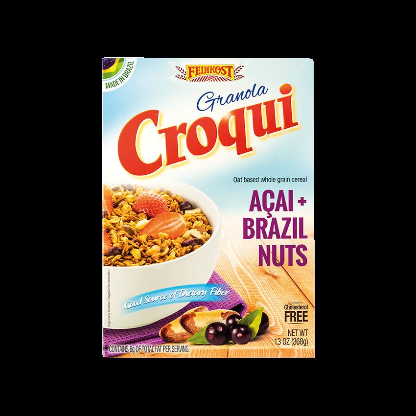 Granola CROQUI Açaí + Castanha do Pará