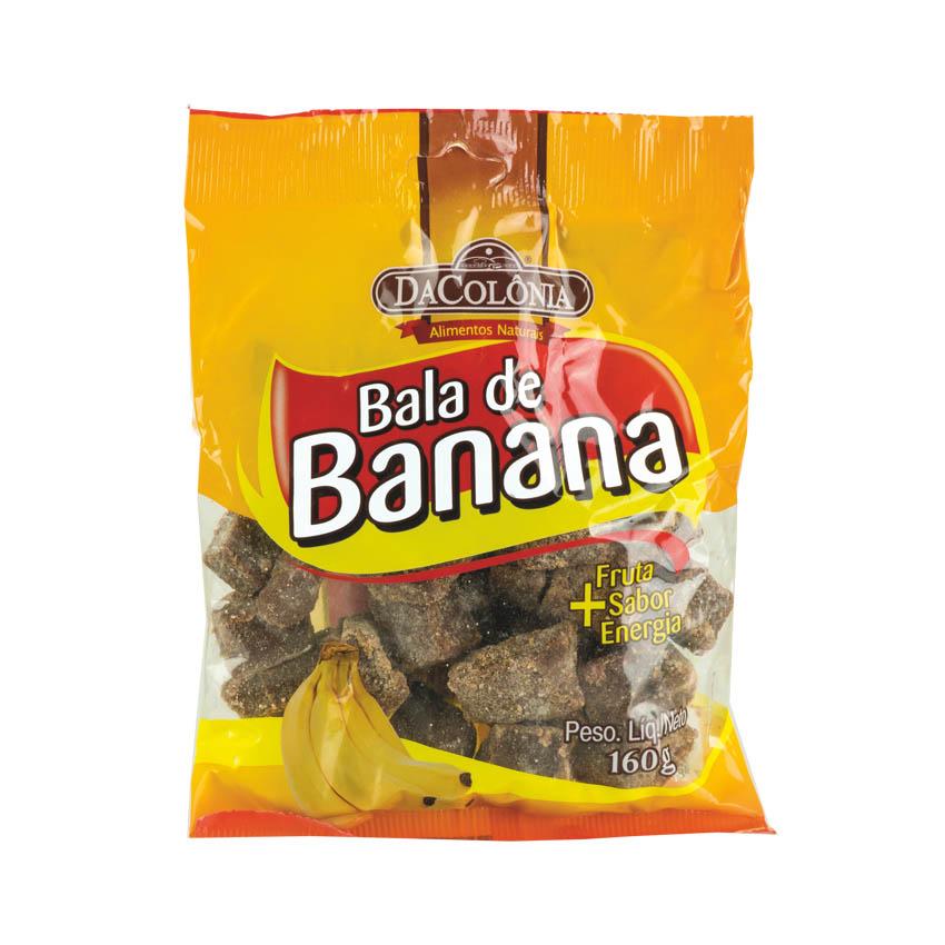 Bala de Banana Tradicional DACOLONIA 160g