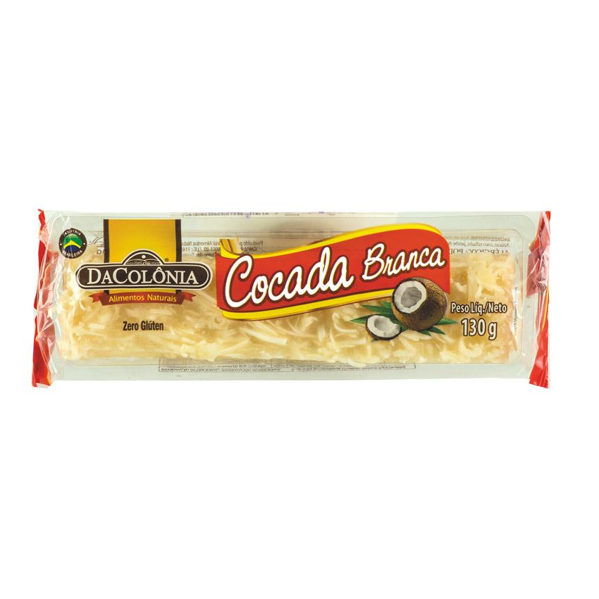 Cocada Branca DACOLONIA 130g