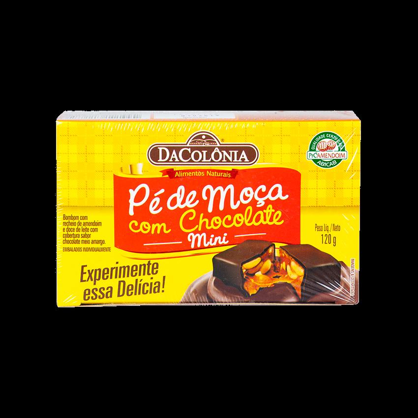 DACOLONIA Pé de Moça com Chocolate, 120g