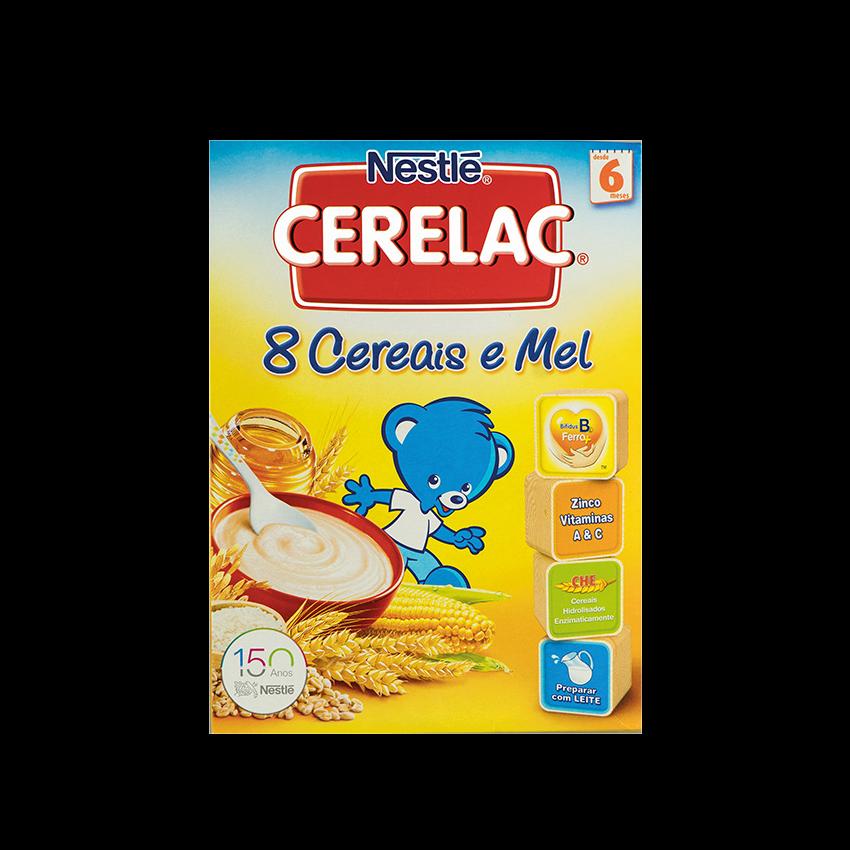 CERELAC 8 Cereais e Mel, NESTLÉ