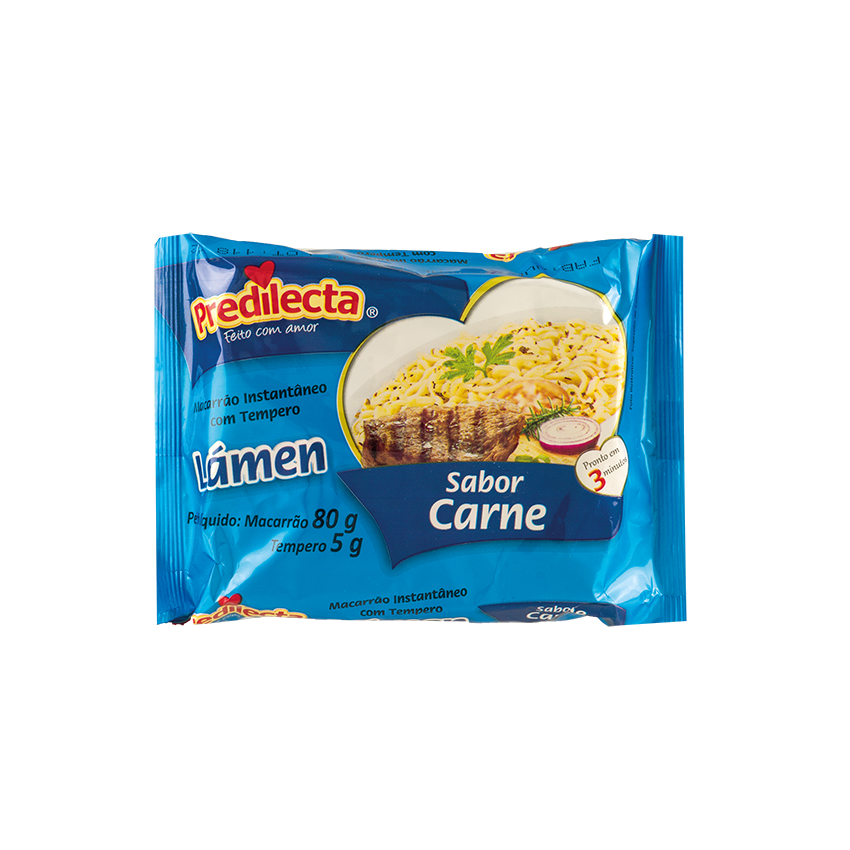Macarrão Lámen Sabor Carne PREDILECTA