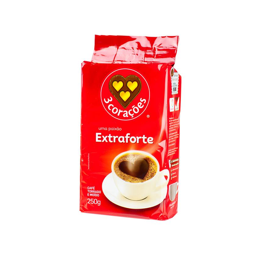 Café 3 CORAÇÕES Extra-Forte