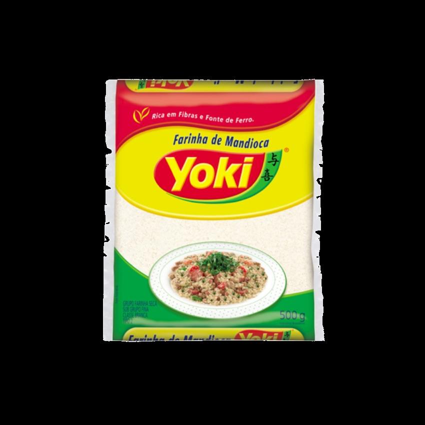 Farinha de Mandioca Crua YOKI