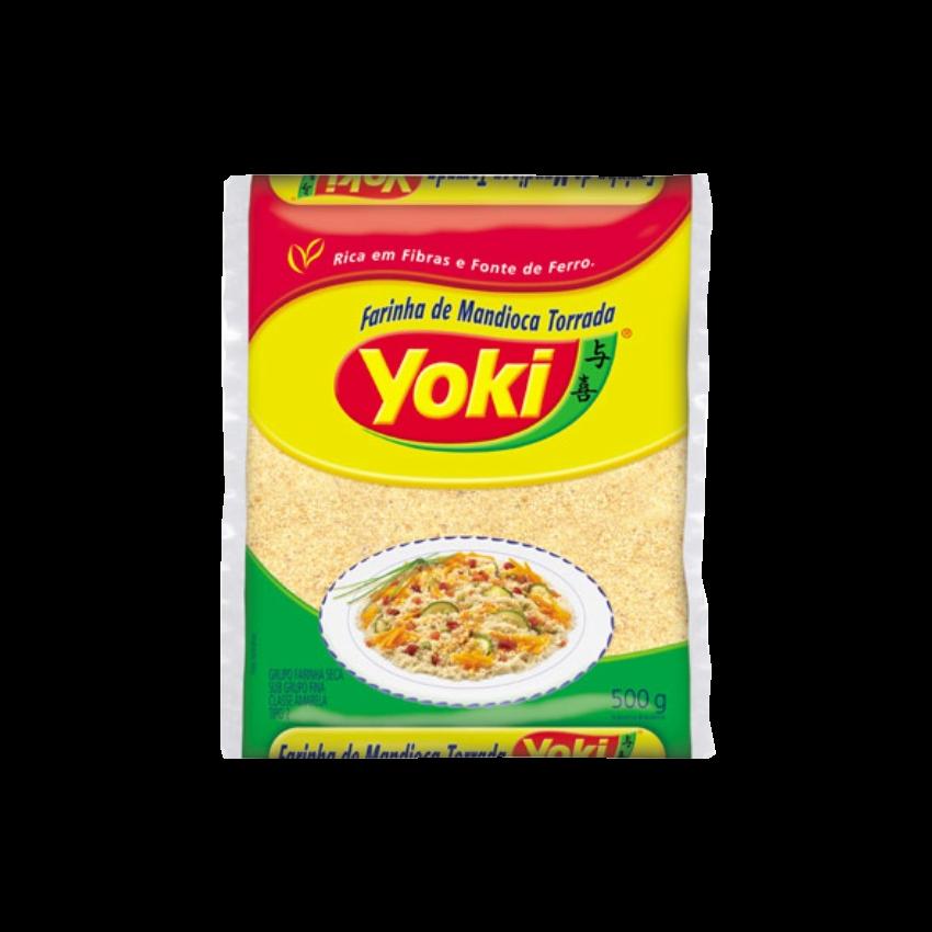 Farinha de Mandioca Torrada YOKI
