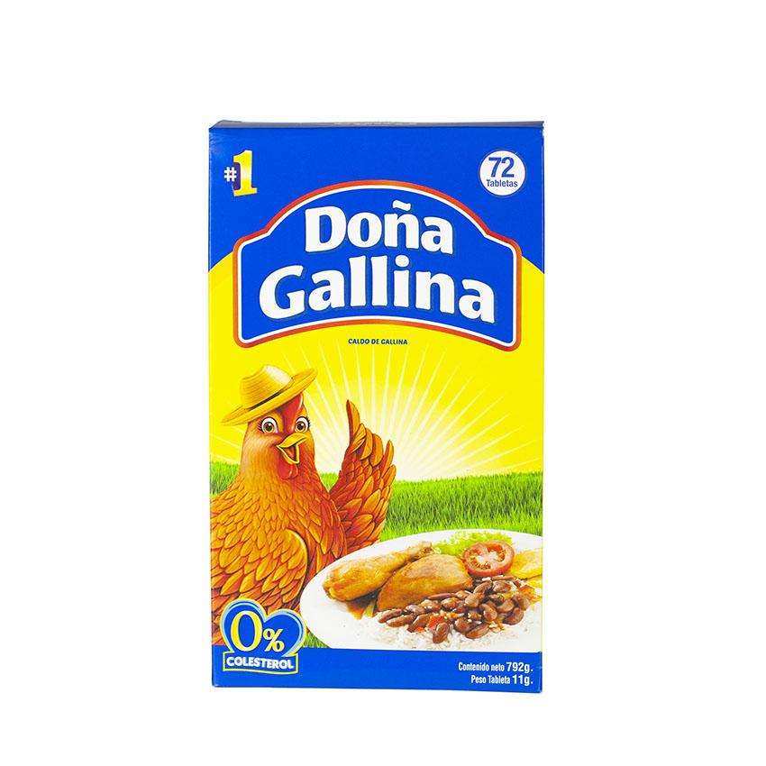 Caldo de Gallina Dona Gallina Dominikansichen Republik