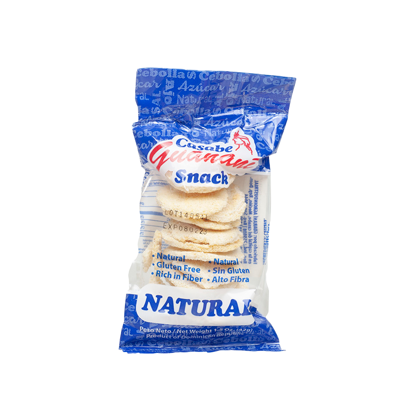GUANANI Maniok-Snack - Casabe Snack Natural, 42g