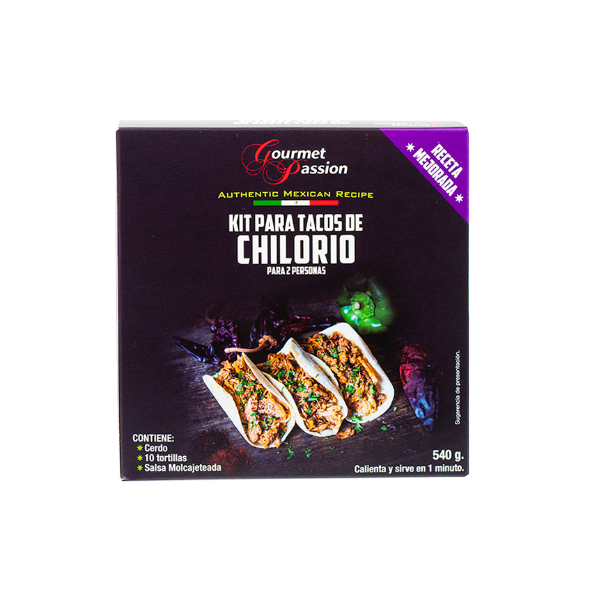 GOURMET PASSION Kit Tacos de Chilorio