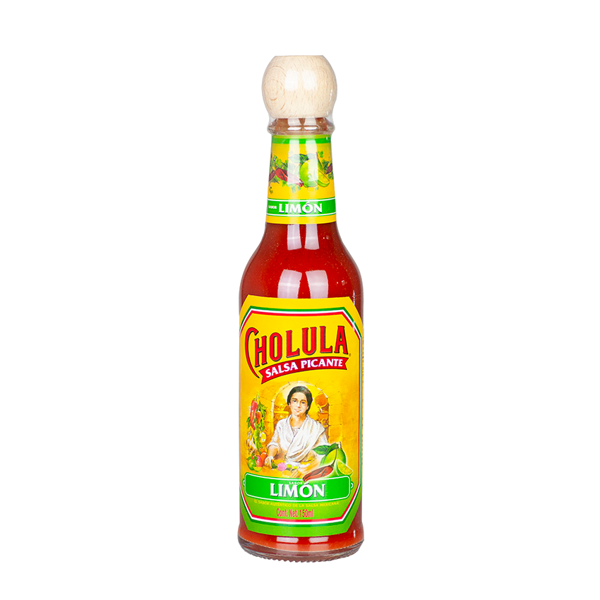 Salsa Picante CHOLULA Chili Limon