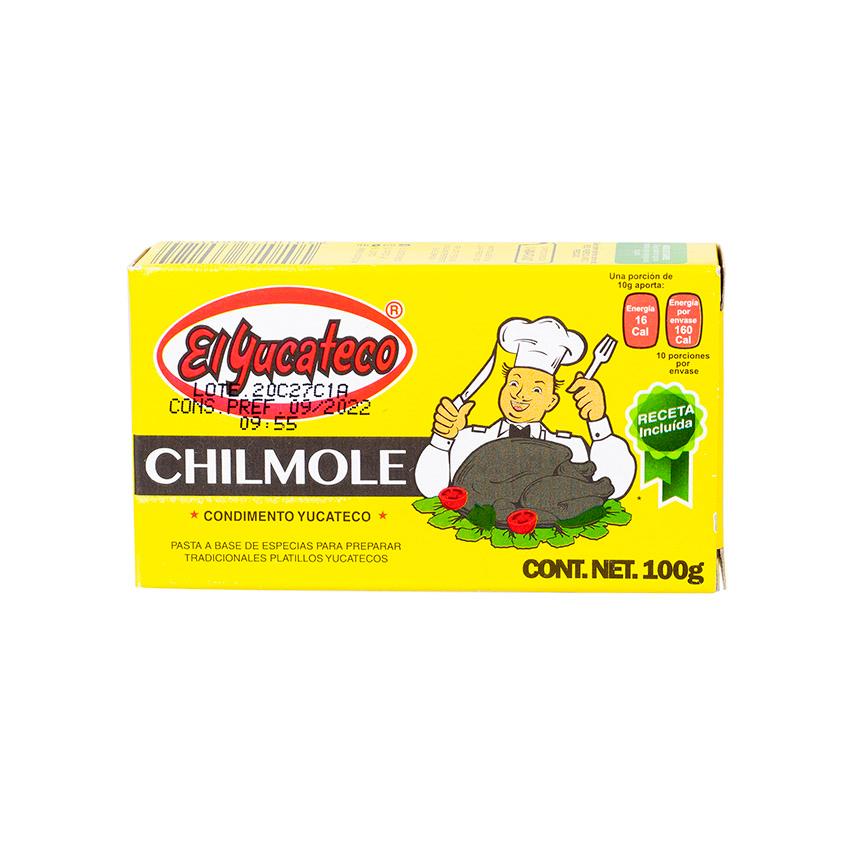 EL YUCATECO Condimento Chilmole, 100g