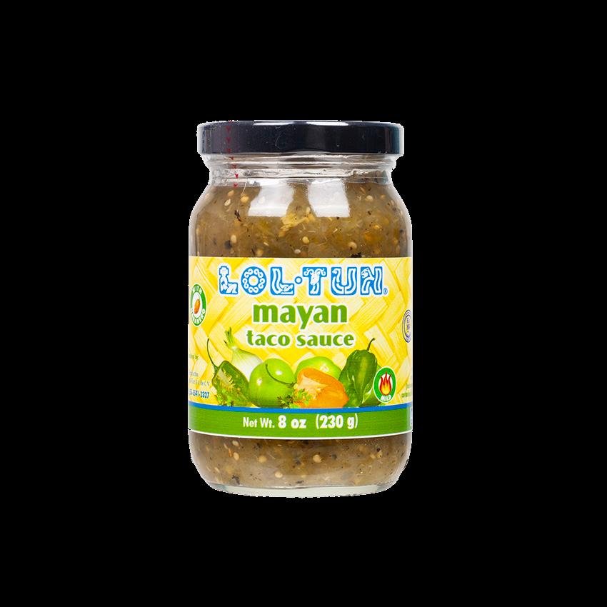 LOL-TUN Salsa Maya Verde, 230g