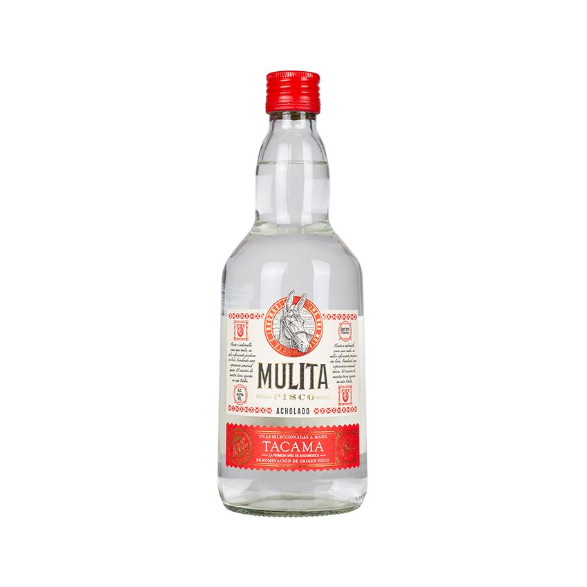 MULITA Pisco Acholado, 40%vol, 700ml