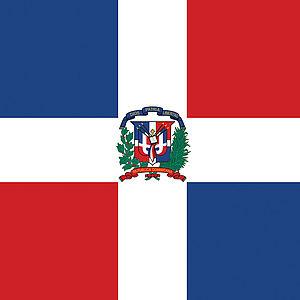 Flagge Dominikanische Republik