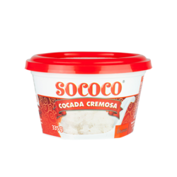 Cocada Cremosa Branca SOCOCO 335g