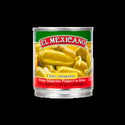 EL MEXICANO Chiles Jalapeños Enteros, 215g