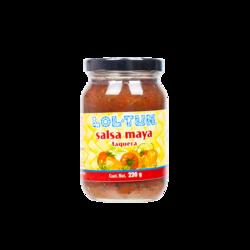 LOL-TUN Salsa Maya Roja, 220g