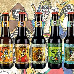 Cerveza del dia de los muertos. Foto: SUCOs