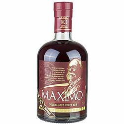 Ron MÁXIMO XO Extra Premium. Foto: SUCOs Import & Markenvertrieb