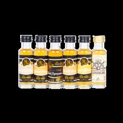OLD MAN SPIRITS Rum Tastingbox, 40% vol., 120ml