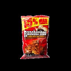 RANCHERITOS Totopos de Maiz con Chile, 60g
